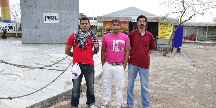 Aamir Mehboob karate, Kamran Mehboob, Imran Umar