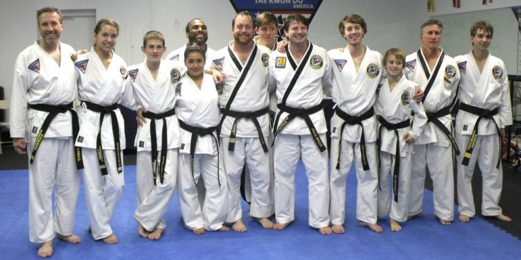 Martial Arts Students Black
