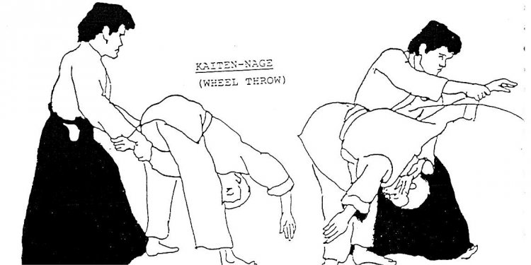 Kaiten Nage, Wheel Throw