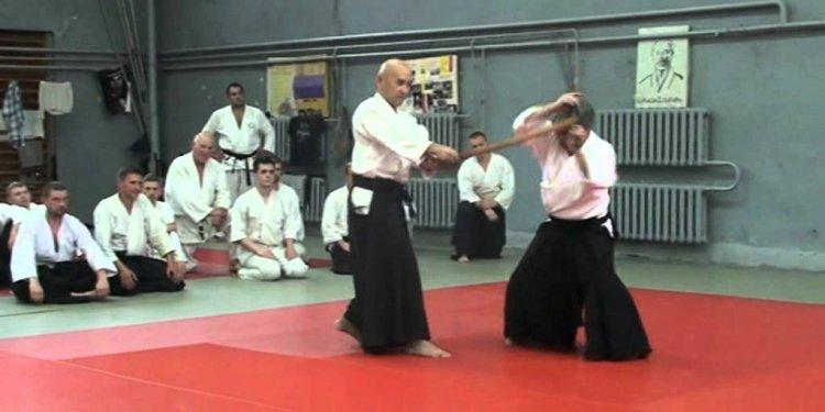 Aikido Ken tai Ken (Jo-Chu-Ge