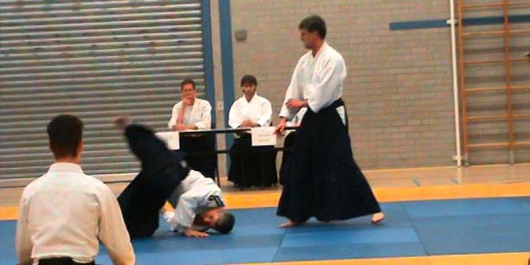 Aikido NIDAN examen Jeroen