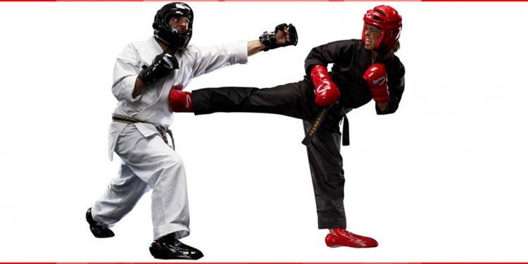 Competitive martial arts