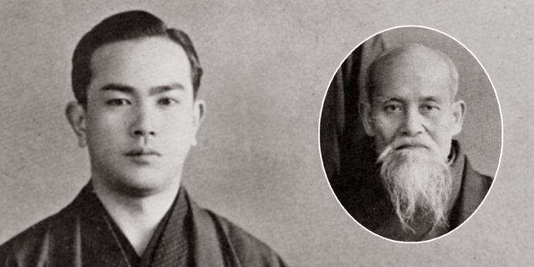 Tohei with Aikido Founder