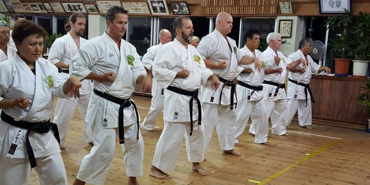 Karate Training in Okinawa