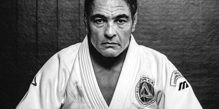 A picture of Rickson Gracie in