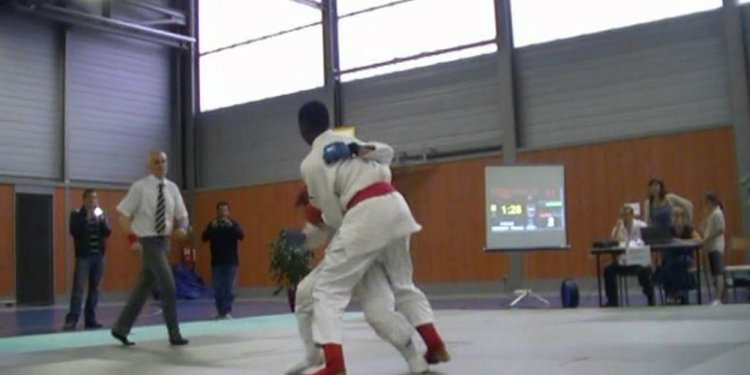 Jujitsu fighting Open Olympic