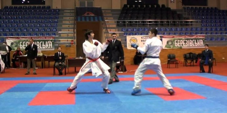 Kharkov OPEN karate tournament