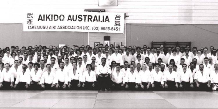 Saito Sensei & Australia