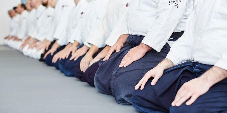 Aikido seiza