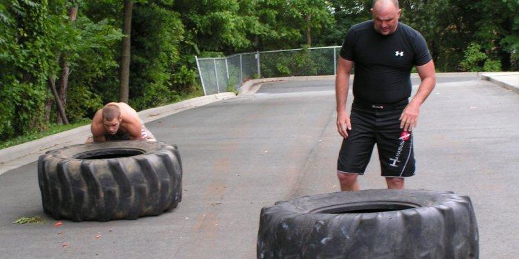 Tire Flips - Crossfit Style