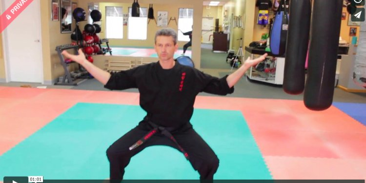 Hapkido Ki Do Form Training By