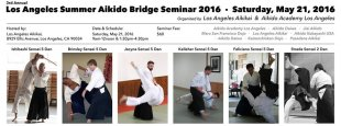 Image of Flyer for Los Angeles Summer Bridge Seminar May 2016