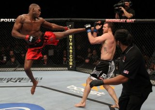 Jon Jones Flying Kick
