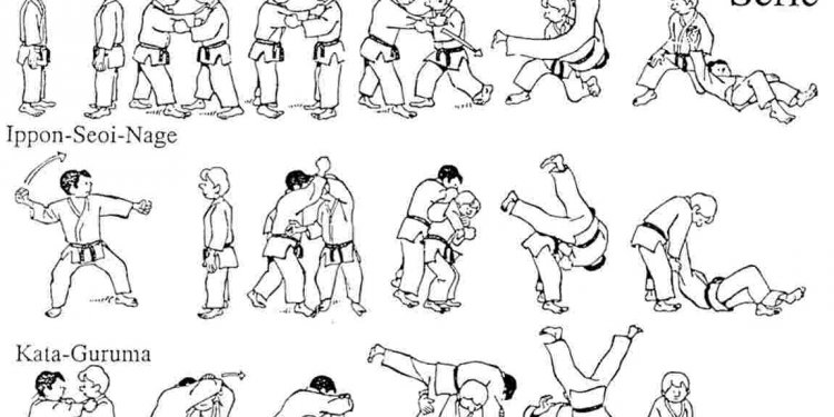 Japanese Jujitsu Moves